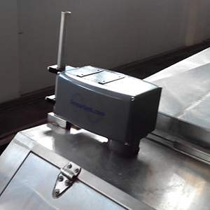 Sensing moisture in grain manufacturing with the Sensortech NIR 6100